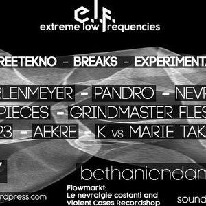 Grindmaster Flesh @ E.L.F. - Extreme Low Frequencies, 20.10.2017, Rauchhaus Berlin