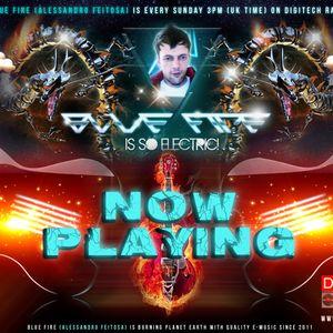 Blue Fire - Electric adventure Mix on Digitech radio #0014