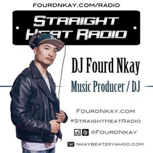 Straight Heat Radio - December 2016 - DJ Fourd Nkay X WestsideFlip