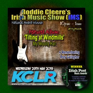 Roddie Cleere's Irish Music Show - Wednesday 29th May 2019
