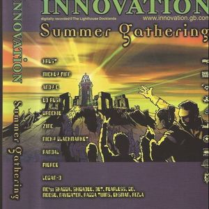Randall with Eksman, Foxy & GQ at Innovation The Summer Gathering (2002)