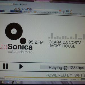 Clara Da Costa Jacks House  13/04/12 Ibiza Sonica Radio