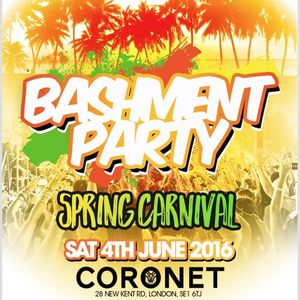 Jam Masters Live @ Bashment Party: Spring Carnival - June 2016