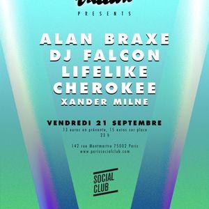 Xander Milne (Main DJ Set) @ Social Club, Paris - 21/09/12