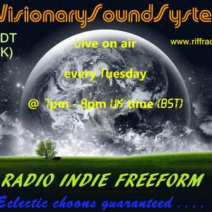 VisionarySoundSystem Show 013 for RIFF RADIO
