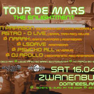 ASTRO-D LIVE AMSTERDAM TOUR DE MARS