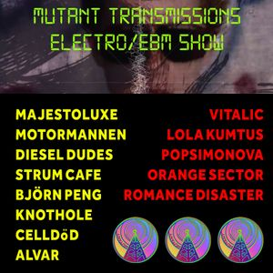 Mutant Transmissions Radio EBM -Electro SHOW (May 2020) with DJ Polina Y