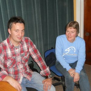 Paul Casey live in the ICR FM Studio