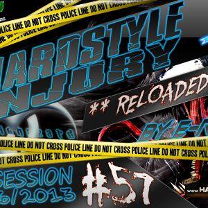 E Razer – Hardstyle Injury * Reloaded * Live #57   13/06/13