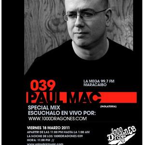 1000DRAG/039 - Paul Mac (Stimulus Records,Blueprint - UK)