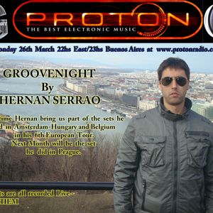 03-26-2012 GROOVENIGHT  By Hernan Serrao Recorded Live in Amsterdam Part 1