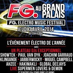 Paul van Dyk @ FG Electro Music Festival, Grand Palais Paris, France 2014-04-03