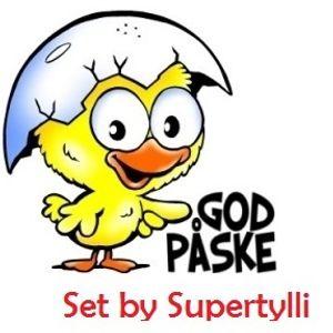Supertylli - God Påske