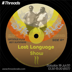 Lost Language w/ Optimus Funk - 18-Jul-20