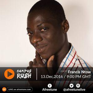 Campus Rush Dec 13 | #Afreetune #Radio | afreetune.com