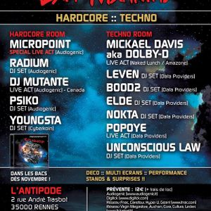 ULaws @ Exit Mankind Tour / Techno Room (28/01/12 Antipode, Rennes)