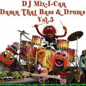 DJ Mix-I-Can-Damn That Bass & Drums Vol.5