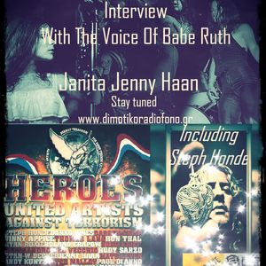 Interview With The Voice of Babe Ruth , Jenny Haan !!! Including Steph Honde - U.A.A.Terrorism