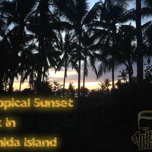 Tropical Sunset Mix in Penida Island