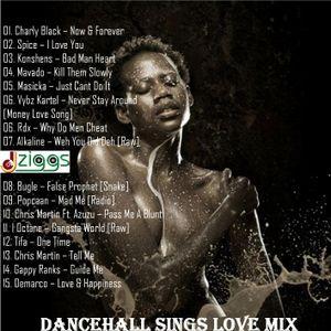Dancehall Sings Love Mix