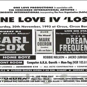 Carl Cox  -   Circus Circus  -  1993 - Part 1