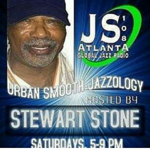 Urban Smoothjazzology with Stewart Stone on JS108 Atlanta.com, on 89.9 QuteFM in Hartford