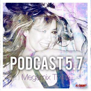 """""""Megamix Thalía"""" Podcast 5.7"""
