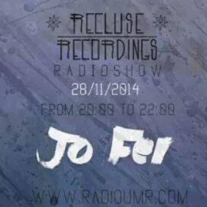 trip with Jo' live for RecluseRec @UMR radio 28.11.2014