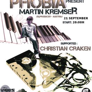Martin Kremser - PHOBIA 011 Guest Mix @ Vibes Radio Station 21 September 2011