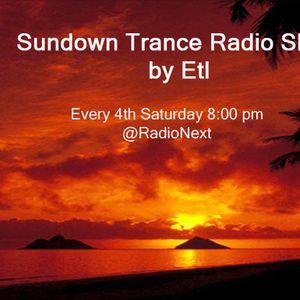 Sundown Trance Radio Show 004 by Etl