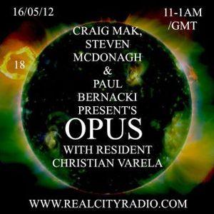 Cristian Varela Opus mix,May 2012