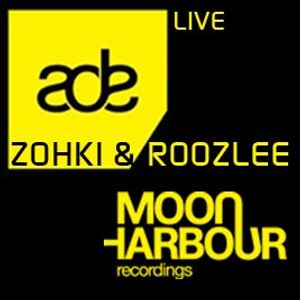 Zohki & Roozlee live at Moon Harbour ADE Showcase 2012 @ Odeon, Amsterdam