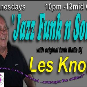 LES KNOTT ON ZERO RADIO WEDNESDAY NIGHT YOUR MIDWEEK NIGHT CAP 10.00 PM TILL MIDNIGHT