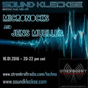 Sound Kleckse Radio Show 0168.1 - Microknocks - 16.01.2016