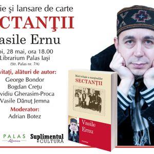 """Vasile Ernu despre """"Sectanţii"""", în studioul Radio HIT // METROPOLA"""