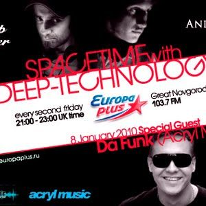 Da Funk Guest Mix@Spacetime With Deep Technology, St. Petersburg, Russia