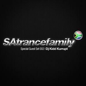 SAtrancefamily Special Guest Set - DJ Kidd Kurrupt
