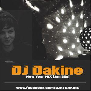 DJ Dakine - New House Year Mix (Jan.2011)