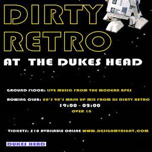 KFMP: Dirty Retro Radio Show 16.12.15