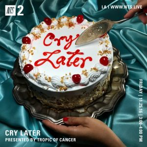 Cry Later w/ Tropic of Cancer - 25th November 2016