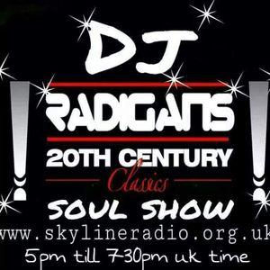 20th century classic soul show dj radigan