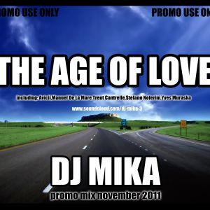 Dj Mika-The Age Of Love 2011