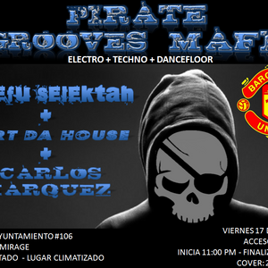 Dj Bartdahouse - Pirate Groove Session ( Agosto 2012 )