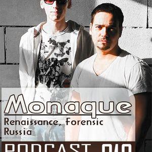 Monaque - guest mix 19(04.09.10)