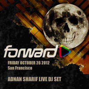 Adnan Sharif @ Forward Halloween Ball Oct 26th 2012