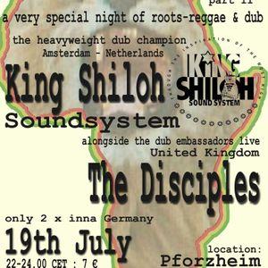 Ganja Riddim presents KING SHILOH SOUNDSYSTEM & THE DISCIPLES (2002, Pforzheim)