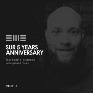 SUR 5Y anniversary: VOZHD