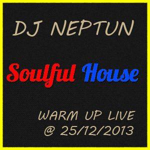 Djneptun - Soulful House Warm Up 2013/12/25