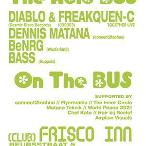 DJ Bass & DJ BeNRG live 3-hrs set @ The Bus/Frisco Inn, A'dam 26-01-2013