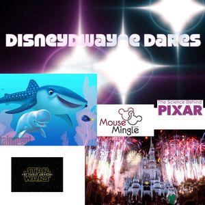 #010 - Star Wars review, Pixar exhibition, Mouse Mingle, DisneyDwayne Dares, Fireworks & more